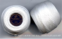 DMC SPECIAL DENTELLE THREAD BALL - Size 80 - 5g