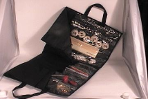 PROJECT BAG that Expands - Also for KNITTING NEEDLES or CROCHETS