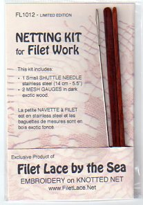NETTING TOOLS - Kit to make SMALL KNOTTED NET