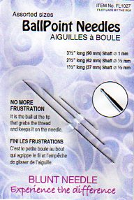 BALLPOINT NEEDLES for HAND EMBROIDERY