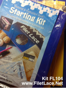 STARTING KIT for BEGINNERS with Instruction book & Embroidery Frame