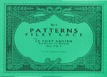 PATTERNS for FILET LACE - Book No. 04