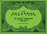 PATTERNS for FILET LACE - Book No. 08
