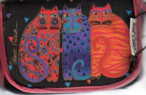 BAG FOR YOUR SMALL TOOLS -Laurel Burch Cat Designs
