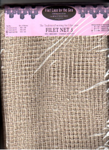 "FILET NET 3-108""x60"" (324 meshes x 180 meshes)"