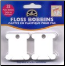 TREAD WINDERS - 28 Plastic FLOSS BOBBINS to organize your threads