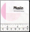 MUSLIN 100% Combed cotton - White