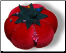 PIN CUSHION GIANT VELVET TOMATO